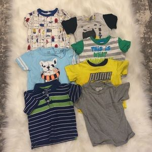 2/$25 Boys 12-18M Lot of Tops. 16 Pieces